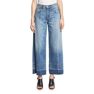 Current/Elliott Wide Leg Crop Jeans 29